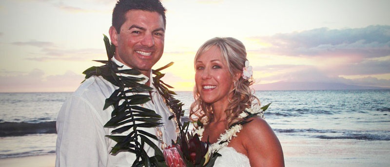Happily ever after from Merry Maui Weddings!