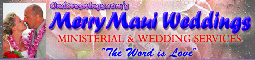 Maui's Premier Wedding & Vacation Services Company