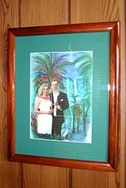 custom wedding photo art