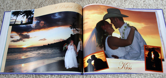 custom coffee table book interior